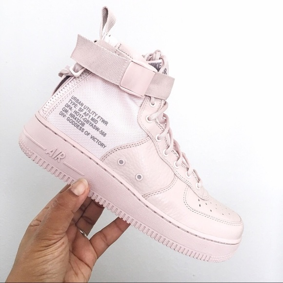 See Our Best Offers! Nike SF Air Force 1 Mid Pink